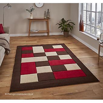 Sesotho brun røde tæppe