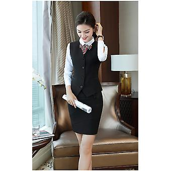 Office Lady Formal Pant Jacket Suit