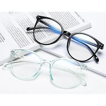 Office Anti Blue Light Oversized Glasses Computer Gaming Big Size Eyeglasses