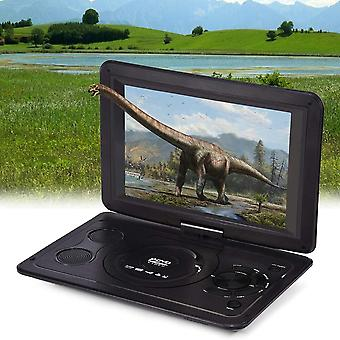 Cd Tv Game Dvd Player Hd Usb Outdoor Rechargeable Swivel Screen Lcd Dvd (black