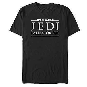 Star Wars Jedi Fallen Bestel Logo T-Shirt
