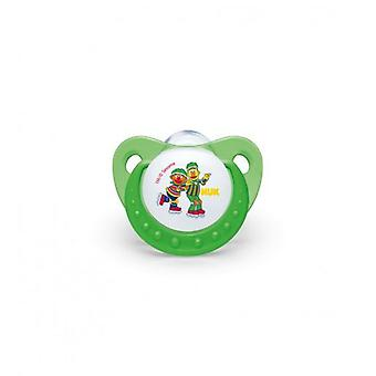 Nuk Sesame Street Silicone Pacifier Size 1 0-6 months 1 pc