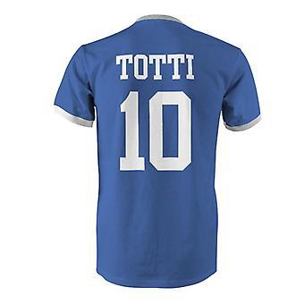 فرانشيسكو توتي 10 إيطاليا بلد المسابقة تي شيرت