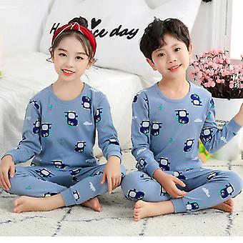 Kinder Pyjamas, Totoro Baumwolle Kleidung Hose Set, Cartoon Sleepwear, Kleinkind,