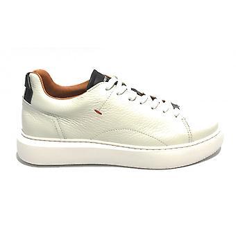 Men's Shoe Ambitious 10443a Sneakers White/ Black Us21am11