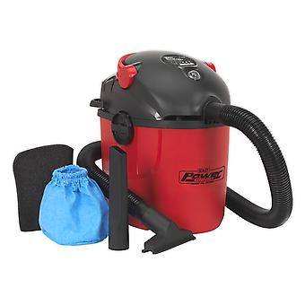 Sealey Pc100 Vacuum Cleaner Wet And Dry 10Ltr 1000W/230V