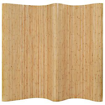 vidaXL pokój dzielnik bambus 250x165 cm naturalny