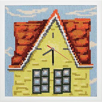 Samling d'Art Cross Stitch Kit: Urverk: Mitt hem