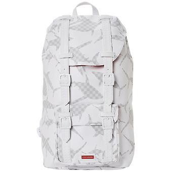 Sprayground Shark Camo Check Hills Backpack