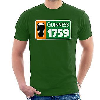 Guinness 1759 Irish Flag Men's T-Shirt