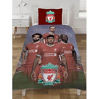 Liverpool FC Players Single Dekbedovertrek en Kussensloop Set
