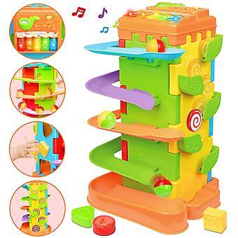 FengChun Baby Spielzeug fr 3 4 5 6 Jahre altes, 4 in 1Motori Aktivittswrfel multifunktionale