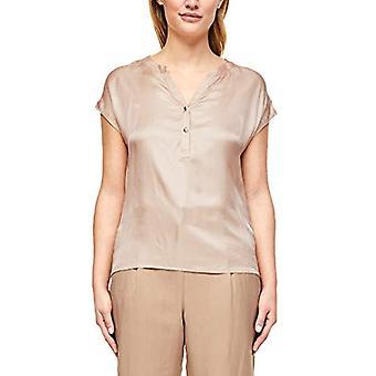 s.Oliver BLACK LABEL T-Shirt Kurzarm, 0948 Pale Sand, 46 Donna