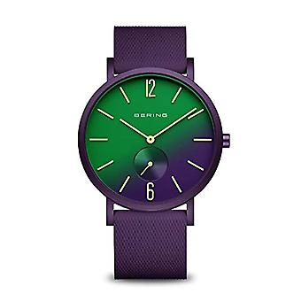 BERING Analogueic Horloge Quartz Unisex met Siliconen Band 16940-999