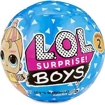 FengChun LOL Surprise Boys Serie 2, 7 berraschungen