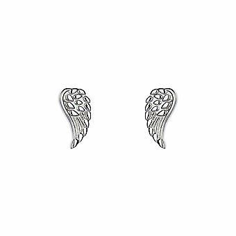 Kalini - Guardian Angel Wing - Stud - Icônes Boucles d'oreilles - Argent - Bijoux cadeaux pour femmes de Lu Bella