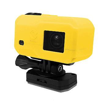 Tuff-Luv Silicone Gel hoes voor Garmin Virb X / XE Camera- Geel