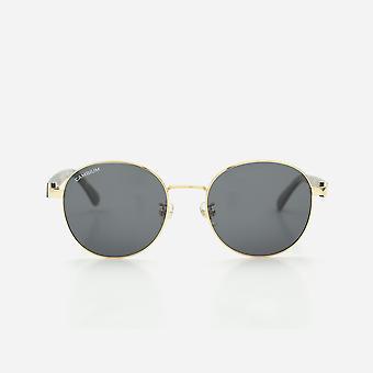 Cambium lisbon sunglasses - aluminium & wood frame
