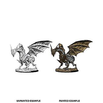 Urverk drage: Pathfinder dype kutt umalte miniatyrer (W9)