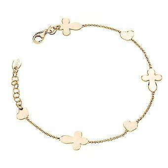 Amen croci cuori bracelet br1fchr
