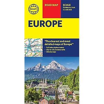 Philip es Europe Road Karte Philips Karten