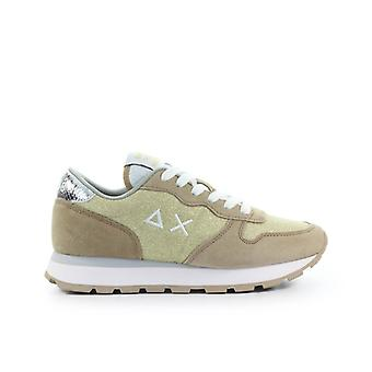 Sun68 Ally Thin Glitter Gold Sneaker