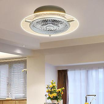 56CM Electric Fan Chandelier 110V Three-level Three-level Dimming Champagne