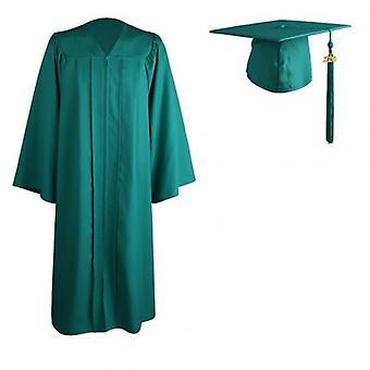 Universitaire graduatie jurk, mortarboard cap