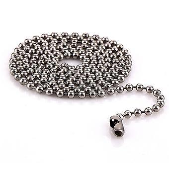 Femei Colier Rotund din oțel inoxidabil Mărgele Titan Pandantiv pentru Ball