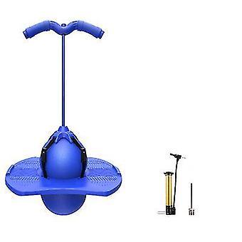 Kinder Safe Bounce Pogo Stick Safe Fun Play Kinder Pogo Stick Jumper Spielzeug (Blau)