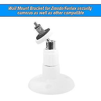 1 confezione montaggio regolabile tavolo da parete tavolo di sicurezza staffa di sicurezza per fotocamera Zmodo / Funlux, bianco