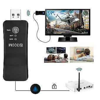 Wzmacniacz sygnału WiFi Range Extender Network Repeater Wireless 300Mbp