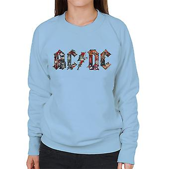 ACDC Live Show Logo Naisten collegepaita