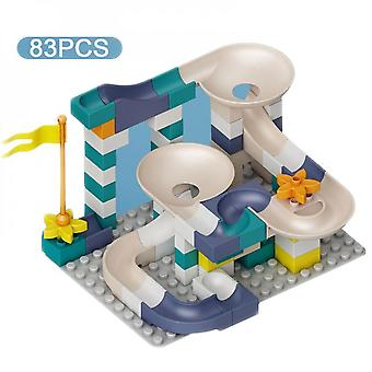 83 Pieces Of Plastic Children's Toys For Ball Slides