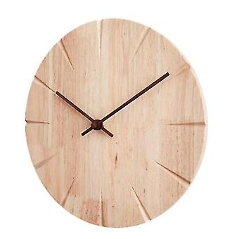 الساعات ساعة الحائط الخشب صامت مشاهدة المنزل غرفة المعيشة جدار خشبي الساعات مطبخ ديكور المنزل