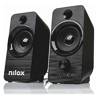PC-högtalare Nilox NXAPC02 6W Svart