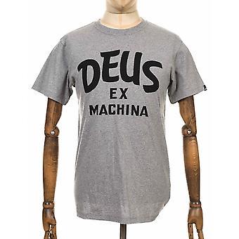 Deus Ex Machina kurviga Tee - grå Heather