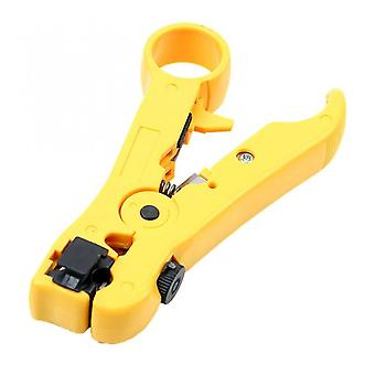 For Utp/stp Rg59 Rg6 Rg7 Rg11 Cutter Striper Cable Wire Pliers Multi-functional Electric Stripping Tools