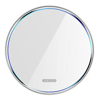 Wireless Charger Thin Aviation Aluminum Computer Numerical Control Fast Charging Pad