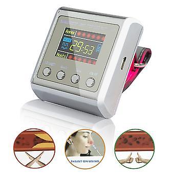 650nm Terapia láser Muñeca Diabetes de baja frecuencia Hipertensión Colesterol Tratamiento Diodo Lllt Reloj Laser Therapy Machine