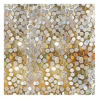 Static 3d Window Film Glitter Dot Sequins Window Sticker Window Decals Decoration (45 X 100cm)
