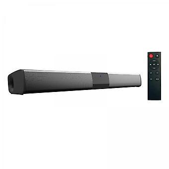 Tv-kaiuttimet - pieni Soundbar Musta Bluetooth-yhteydellä. Mukaan lukien kaukosäädin