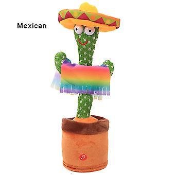 Dancing Cactus Talking Cactus Jucărie repetă ceea ce spui