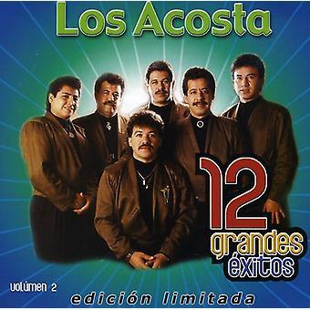 Los Acosta - Los Acosta: Vol. 2-12 Grandes Exitos [CD] USA import