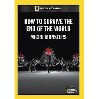 How to Survive the End of the World: Micro Monster [DVD] USA import
