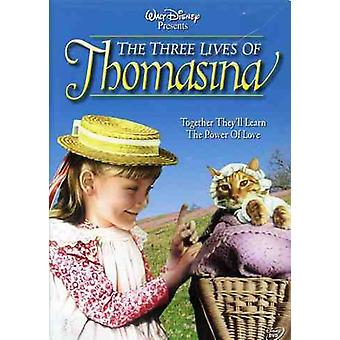 Three Lives of Thomasina [DVD] USA import