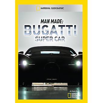 Man Made: Bugatti Super Car [DVD] USA importieren