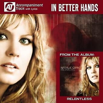 Natalie Grant - In Better Hands (Accompaniment Track) [CD] USA import
