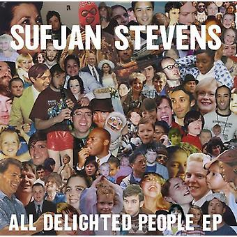 Sufjan Stevens - All Delighted People [CD] USA import
