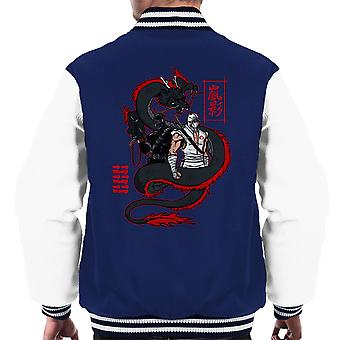 Arashikage Clan Storm Shadow slangogen GI Joe Dragon mannen Varsity Jacket